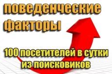 До 1000 уникальных посетителей в день на Ваш сайт в течение месяца 3 - kwork.ru
