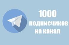 1000 русских подписчиков с просмотрами на telegram 10 - kwork.ru
