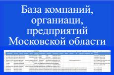База предприятий и организаций СПБ 11 - kwork.ru