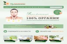 Сочная и яркая шапка для сайта 10 - kwork.ru