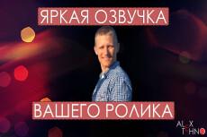 Диктор для YouTube канала 4 - kwork.ru