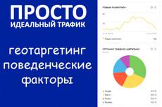 500  уникальных посетителей в сутки 14 - kwork.ru