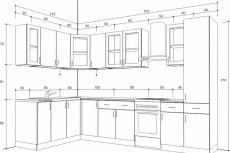 3D - визуализация кухонного гарнитура 17 - kwork.ru