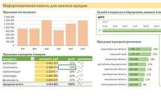 Выполню работу в Excel 16 - kwork.ru