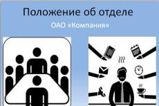 Разработаю должностную инструкцию 10 - kwork.ru