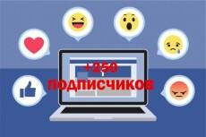 Раскрутка Facebook - 600 вечных русскоговорящих подписчиков 9 - kwork.ru