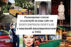 Размещение статей с ссылками на Ваш ресурс более чем на 800 площадках 22 - kwork.ru