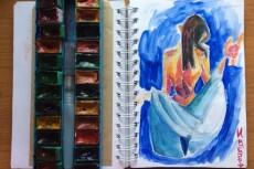 Нарисую любую иллюстрацию или персонажа в стиле doodle 45 - kwork.ru