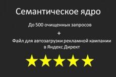Соберу семантическое ядро и распределю запросы по страницам 12 - kwork.ru