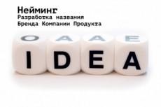 Нейминг. Уникальное название фирмы, бренда, товара 11 - kwork.ru
