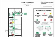 Отрисовка планировок (чертежей) 27 - kwork.ru