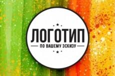 Создам логотип в 3х вариантах + исходники 13 - kwork.ru