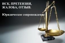 Составлю иски, претензии, заявления, жалобы, отзывы и т. д 2 - kwork.ru