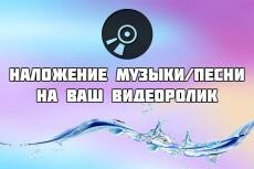 Наложу аудиотрек на видео 20 - kwork.ru