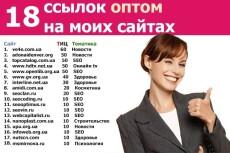 Поставлю ссылки на 17 моих сайтах 3 - kwork.ru