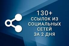 250 ссылок из социальной сети Google+ Пример работы в описании 19 - kwork.ru
