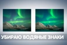 Уберу водяной знак с фото 15 - kwork.ru
