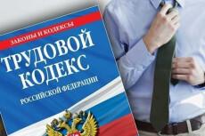 Оценю действия Вашего работодателя на соответствие трудовому кодексу 8 - kwork.ru