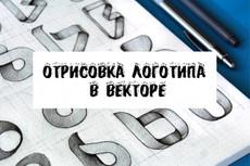 Перерисую растровую картинку в вектор 49 - kwork.ru