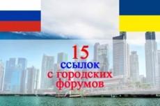20 ссылок с профилей на украинских форумах 4 - kwork.ru
