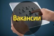 Резюме и вакансии 35 - kwork.ru