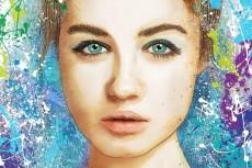 Портрет в стиле Grange 33 - kwork.ru