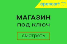 Создание адаптивного интернет-магазина на OpenCart последней версии 6 - kwork.ru