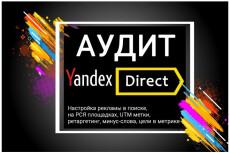 Аудит рекламных кампаний в системе Яндекс. Директ + исправление ошибок 5 - kwork.ru