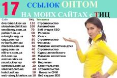 поставлю ссылки на 18 моих сайтах 4 - kwork.ru