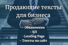 Копирайтинг - 2000 знаков. Интересный, грамотный, продающий текст 4 - kwork.ru