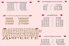 5000 русских подписчиков в Инстаграм. Раскрутка в instagram 4 - kwork.ru