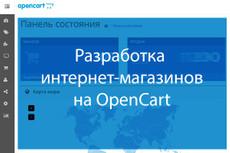 Opencart 2. 0x. Создание интернет-магазина 14 - kwork.ru