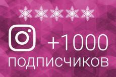 Добавлю 1500 подписчиков в Инстаграм 10 - kwork.ru