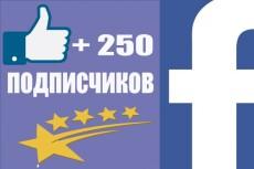 Раскрутка Facebook - 600 вечных русскоговорящих подписчиков 7 - kwork.ru