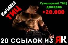 30 ссылок на Ваш сайт 8 - kwork.ru