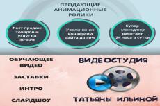 Анимационный рекламный видеоролик 13 - kwork.ru