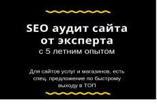 Аудиты и консультации 13 - kwork.ru