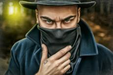 Нарисую графический портрет в мультяшном стиле 19 - kwork.ru