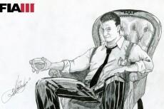 Простой карандаш и краски, портрет по Вашему фото 20 - kwork.ru