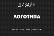 Сделаю логотипы,дизайн фирменных носителей 35 - kwork.ru