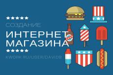 Интернет-магазин - создание и настройка 22 - kwork.ru