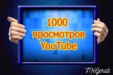 4000 просмотров с удержанием до 30 минут на Youtube 19 - kwork.ru