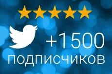Комплексное продвижение в Твиттер - 50 подписчиков 10 - kwork.ru