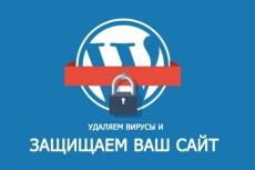 Вылечу Ваш WordPress сайт от вирусов 15 - kwork.ru