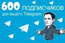 1000 русских подписчиков с просмотрами на telegram 12 - kwork.ru