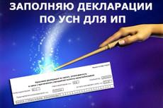 Заполнение налоговой декларации для плательщика единого налога Украина 14 - kwork.ru