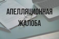 Напишу возражение, апелляционную жалобу 8 - kwork.ru