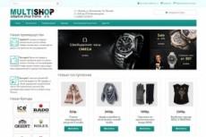 6 шаблонов интернет-магазина на OpenCart 8 - kwork.ru