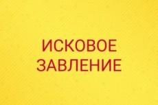 Составлю исковое заявление для арбитражного суда 21 - kwork.ru