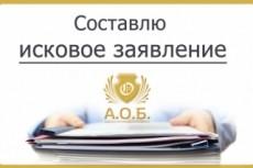 Составлю исковое заявление 17 - kwork.ru